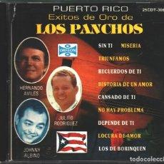 CDs de Música: MUSICA GOYO - CD - TRIO LOS PANCHOS - AVILES, RGUEZ Y ALBINO CON EL TRIO SAN JUAN - RARO - - *AA98. Lote 99483975