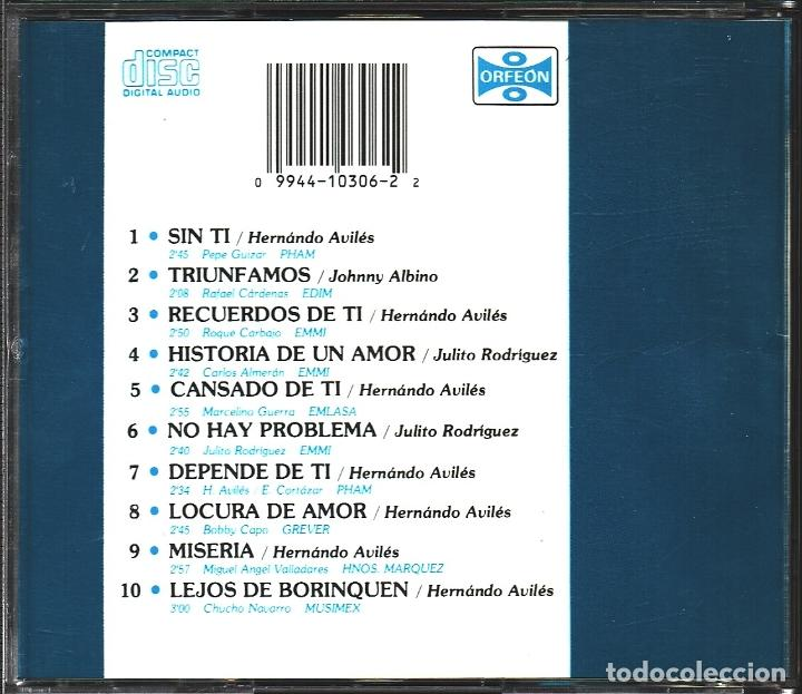 CDs de Música: MUSICA GOYO - CD - TRIO LOS PANCHOS - AVILES, RGUEZ Y ALBINO CON EL TRIO SAN JUAN - RARO - - *AA98 - Foto 2 - 99483975