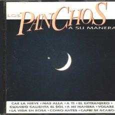 CDs de Música: MUSICA GOYO - CD ALBUM - TRIO LOS PANCHOS - A SU MANERA - EDICION EPIC - - *AA98. Lote 99484027