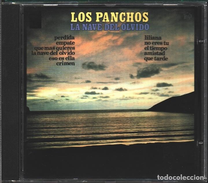 MUSICA GOYO - CD - TRIO LOS PANCHOS - LA NAVE DEL OLVIDO - EDICION CBS - RARO - *AA98 (Música - CD's Latina)