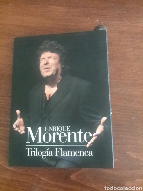 ENRIQUE MORENTE TRILOGÍA FLAMENCA (Música - CD's Flamenco, Canción española y Cuplé)