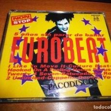 CDs de Música: EUROBEAT 5 AÑOS SIN PARAR DE BAILAR DOBLE CD AÑO 1994 CAPELLA DOOP TONY WILSON TWENTY 4 SEVEN 2 CD. Lote 204705156