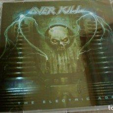 CDs de Música: (SIN ABRIR) OVERKILL ELECTRIC AGE. Lote 99678535