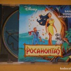 CDs de Música: POCAHONTAS, BSO, BANDA SONORA EN ESPAÑOL, ALAN MENKEN, DISNEY, CD ERCOM. Lote 99681287