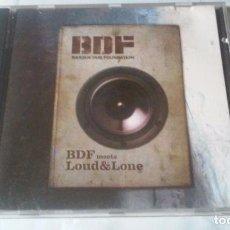 CDs de Música: BDF (BASQUE CLUB FOUNDATION) MEETS LOUD & LONE. Lote 99684155