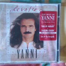 CDs de Música: YANNI.DEVOTION.CD.VANGELIS.. Lote 99712807