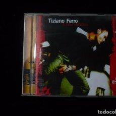 CDs de Música: TIZIANO FERRO ROSSO RELATIVO. Lote 99818627