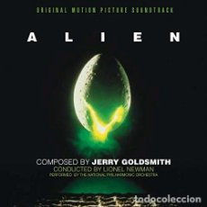 CDs de Música: ALIEN - JERRY GOLDSMITH. Lote 99844075