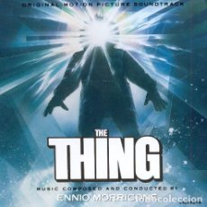 CDs de Música: THE THING - ENNIO MORRICONE (EDICION VARESE SARABANDE). Lote 99846903