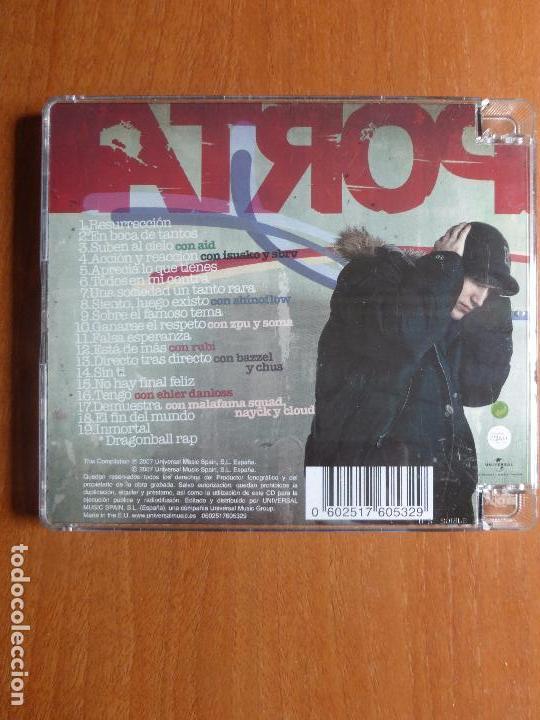 CDs de Música: PORTA En boca de tantos CD 2007 - DUOS AID ISUSKO Y SBRV SHINOFLOW RUBI BAZZEL Y CHUS - BUEN ESTADO - Foto 2 - 99855687