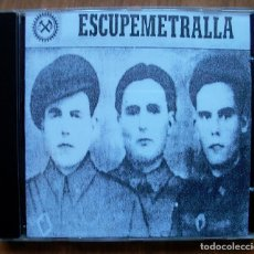 CDs de Música: ESCUPEMETRALLA - MEGA RARO INDUSTRIAL ESPAÑOL - CD-R - VER FOTOS. Lote 99873039