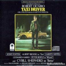 CDs de Música: TAXI DRIVER / BERNARD HERRMANN CD BSO. Lote 276753448