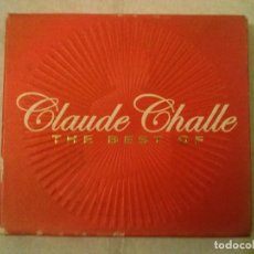 CDs de Música: CLAUDE CHALLE ?– THE BEST OF. Lote 240436345
