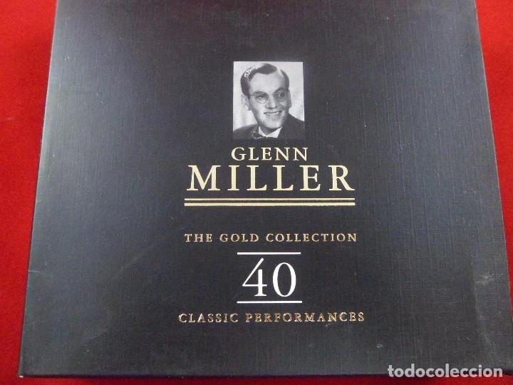 GLENN MILLER. THE GOLD COLLECTION. 40. CLASSIC PERFORMANCES. ESTUCHE 2 CD´S (Música - CD's Jazz, Blues, Soul y Gospel)
