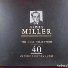 CDs de Música: GLENN MILLER. THE GOLD COLLECTION. 40. CLASSIC PERFORMANCES. ESTUCHE 2 CD´S. Lote 99936815
