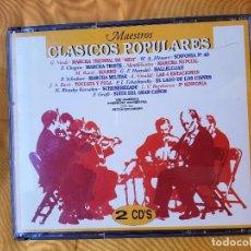CDs de Música: CLÁSICOS POPULARES DOBLE CD. Lote 99941327