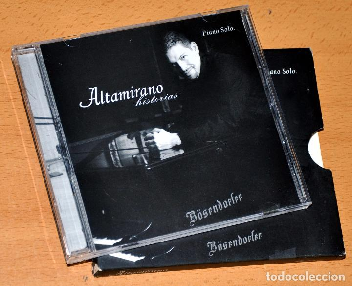 CD ALBUM + LIBRETO: ALTAMIRANO - HISTORIAS - PIANO SÓLO - CD 10 TRACKS - ALTAMIRANO 2004 (Música - CD's Melódica )