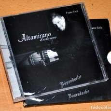 CDs de Música: CD ALBUM + LIBRETO: ALTAMIRANO - HISTORIAS - PIANO SÓLO - CD 10 TRACKS - ALTAMIRANO 2004. Lote 99942755