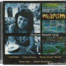 CDs de Música: CD ELISABET RASPALL GRUP : MAAM ( JORDI RALLO, CARLES ALMEUA, SHERIRR, BENET PALET, ROBERT MERRYMAN . Lote 99995027