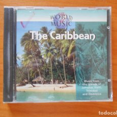 CDs de Música: CD THE WORLD OF MUSIC - THE CARIBBEAN (3M). Lote 100038847