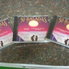 CDs de Música: TRES CD,S 50 BALADAS INOVIDABLES O. VOL 1, 2 Y 3. IMPECABLES. Lote 100041655