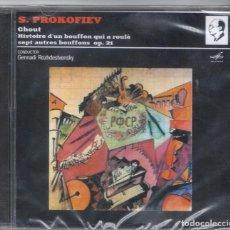 CDs de Música: PROKOFIEV: CHOUT OP.21. Lote 100077595