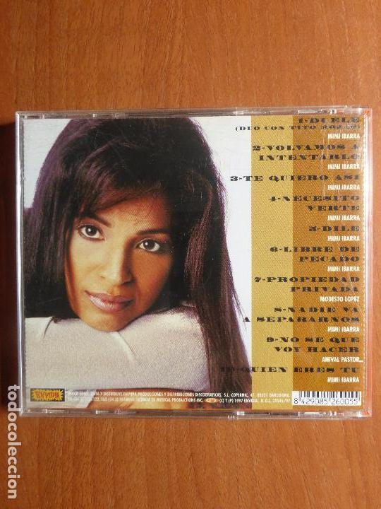 CDs de Música: MIMI IBARRA - COMPOSITORA, CANTANTE , MUJER - CD - Foto 2 - 100090323