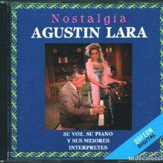 CDs de Música: MUSICA GOYO - CD ALBUM - AGUSTIN LARA - NOSTALGIA - EDICION MEXICO - RARO - *AA98. Lote 100119767