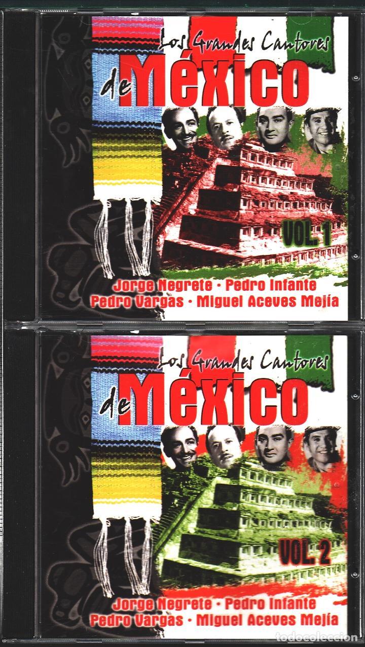 MUSICA GOYO - CD ALBUM - GRANDES CANTORES DE MEXICO - DOBLE CD - - RARO - *UU99 (Música - CD's Latina)