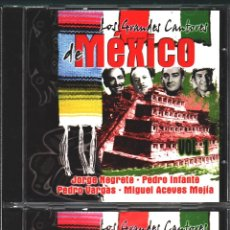 CDs de Música: MUSICA GOYO - CD ALBUM - GRANDES CANTORES DE MEXICO - DOBLE CD - - RARO - *UU99. Lote 100119959