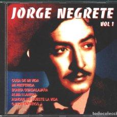 CDs de Música: MUSICA GOYO - CD ALBUM - JORGE NEGRETE - EN VIVO - 14 CANCIONES DIFERENTES - RARO - *UU99. Lote 100122071