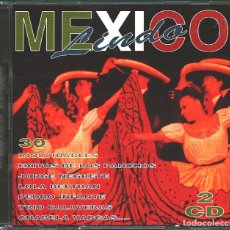 CDs de Música: MUSICA GOYO - CD ALBUM - MEXICO LINDO - CD DOBLE - 30 CANCIONES - RARO - *AA98. Lote 100122299