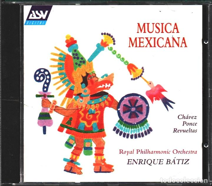 MUSICA GOYO - CD ALBUM - MUSICA MEXICANA - ROYAL PHILARMONIC ORCHESTRA - RARO - *UU99 (Música - CD's Latina)