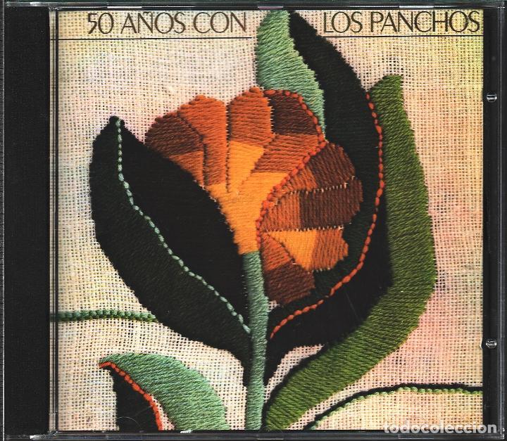 MUSICA GOYO - CD ALBUM - TRIO LOS PANCHOS - 50 AÑOS CON LOS PANCHOS - RARO - *BB99 (Música - CD's Latina)