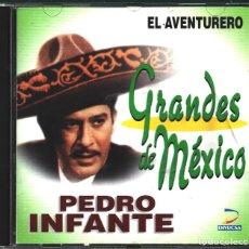 CDs de Música: MUSICA GOYO - CD ALBUM - PEDRO INFANTE - GRANDES DE MEXICO - EL AVENTURERO - RARO - *UU99. Lote 100123995