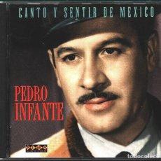 CDs de Música: MUSICA GOYO - CD ALBUM - PEDRO INFANTE - CANTO Y SENTIR DE MEXICO - - RARO - *XX99. Lote 100124135