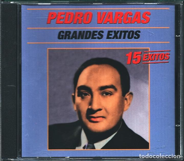 MUSICA GOYO - CD ALBUM - PEDRO VARGAS - GRANDES EXITOS - - RARO - *UU99 (Música - CD's Latina)