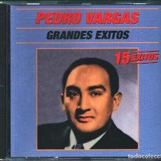 CDs de Música: MUSICA GOYO - CD ALBUM - PEDRO VARGAS - GRANDES EXITOS - - RARO - *UU99. Lote 100124327