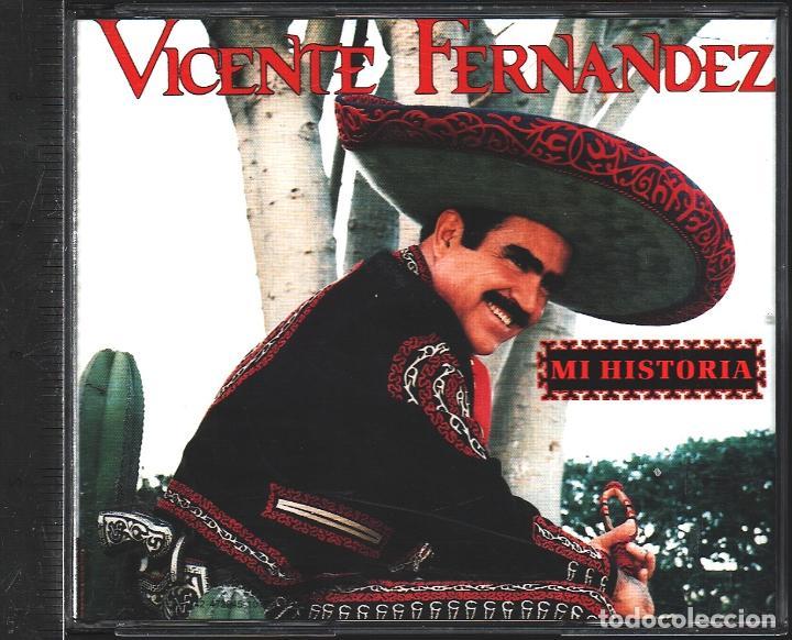MUSICA GOYO - CD ALBUM - VICENTE FERNANDEZ - MI HISTORIA - DOBLE CD - - *AA99 (Música - CD's Latina)