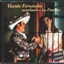 CDs de Música: MUSICA GOYO - CD ALBUM - VICENTE FERNANDEZ - RECORDANDO A LOS PANCHOS - - RARISIMO - *AA99. Lote 100125235