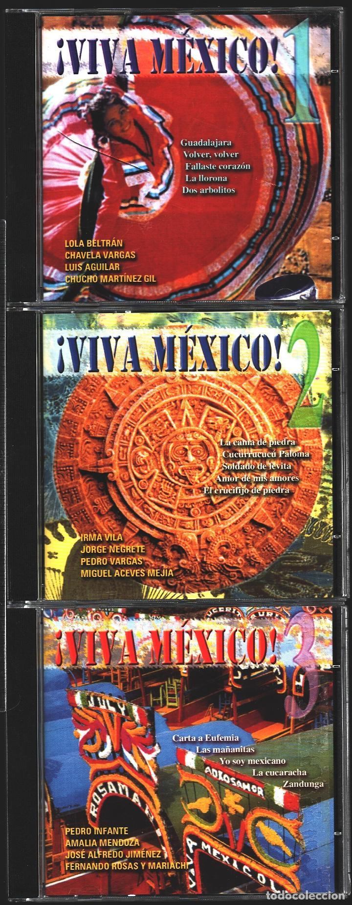 MUSICA GOYO - CD ALBUM - VIVA MEXICO - CD TRIPLE - - RARO - *XX99 (Música - CD's Latina)
