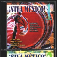 CDs de Música: MUSICA GOYO - CD ALBUM - VIVA MEXICO - CD TRIPLE - - RARO - *XX99. Lote 100125687