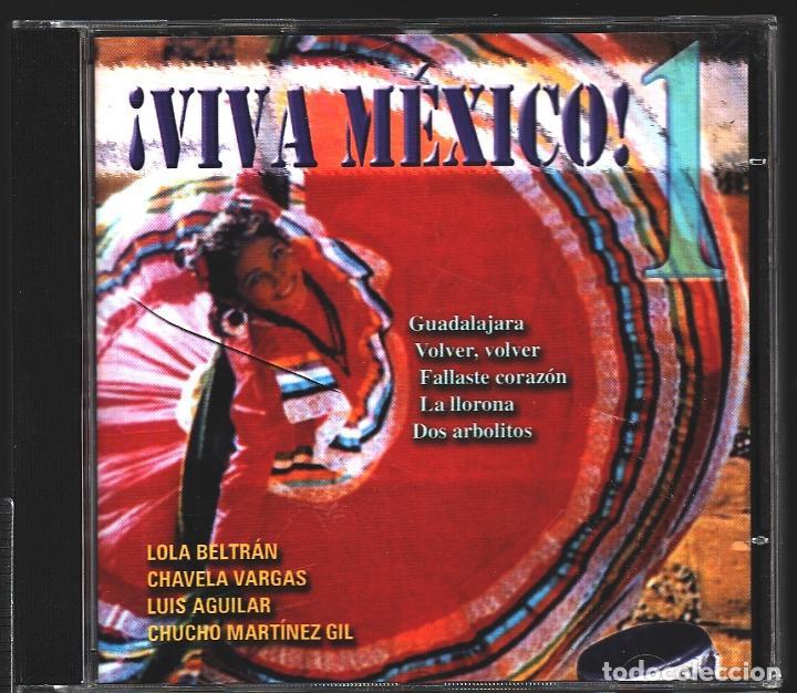 CDs de Música: MUSICA GOYO - CD ALBUM - VIVA MEXICO - CD TRIPLE - - RARO - *XX99 - Foto 2 - 100125687