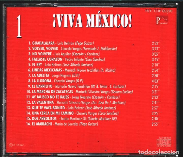 CDs de Música: MUSICA GOYO - CD ALBUM - VIVA MEXICO - CD TRIPLE - - RARO - *XX99 - Foto 3 - 100125687