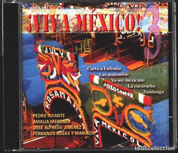 CDs de Música: MUSICA GOYO - CD ALBUM - VIVA MEXICO - CD TRIPLE - - RARO - *XX99 - Foto 6 - 100125687