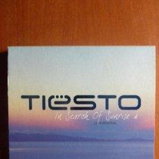 CDs de Música: DJ TIESTO - IN SEARCH OF SUNRISE 4 - LATIN AMERICA - DOBLE CD BUEN ESTADO. Lote 100133623