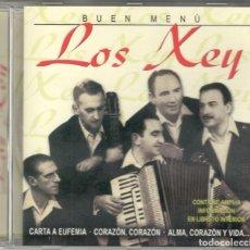 CDs de Música: LOS XEY CD BUEN MENÚ 2004. Lote 100152335