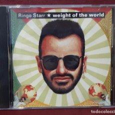 CDs de Música: RINGO STARR - BEATLES - WEIGHT OF THE WORLD- CD SINGLE - USA PROMOCIONAL- MUY RARO- 1992. Lote 100165279