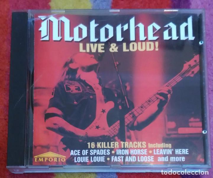 MOTORHEAD (LIVE & LOUD!) CD 1995 * DIFICIL (Música - CD's Heavy Metal)