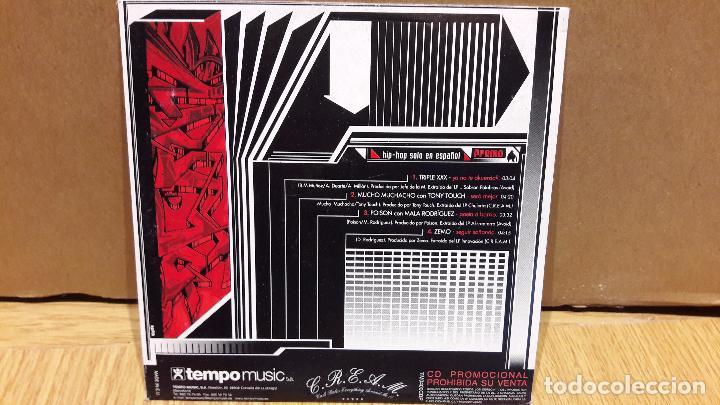 CDs de Música: HIP HOP SOLO EN ESPAÑOL. VARIOS ARTISTAS CD MAXI-PROMO / LEVES MARCAS / ENVÍO INCLUIDO - Foto 2 - 100244139
